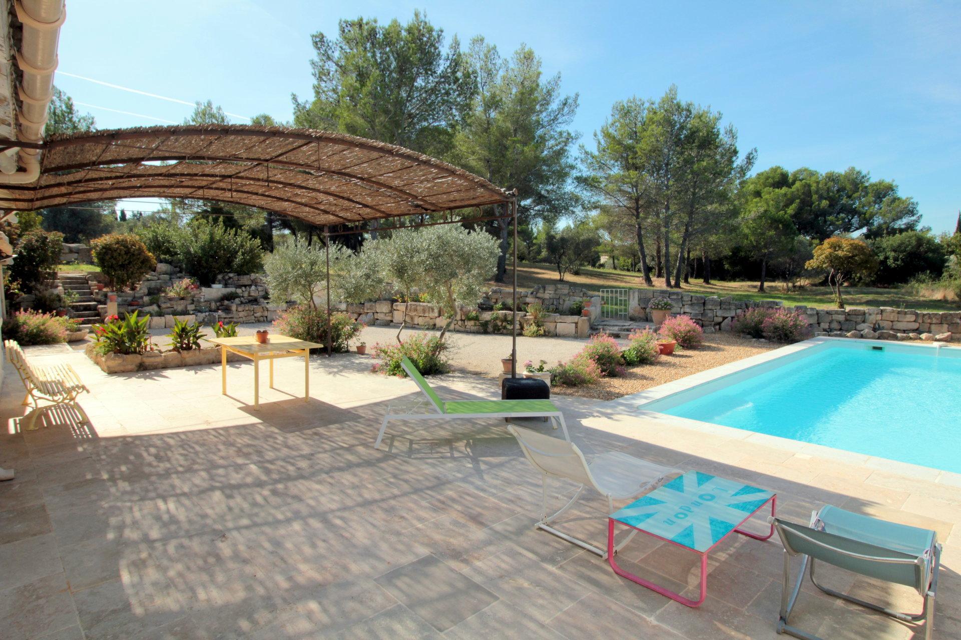 Fontvieille - Maison de plain-pied avec piscine