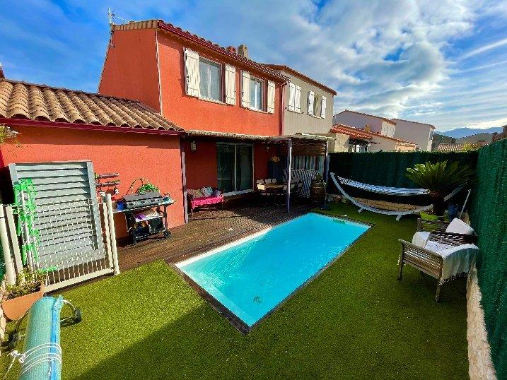 Villa T4 avec piscine chauffée