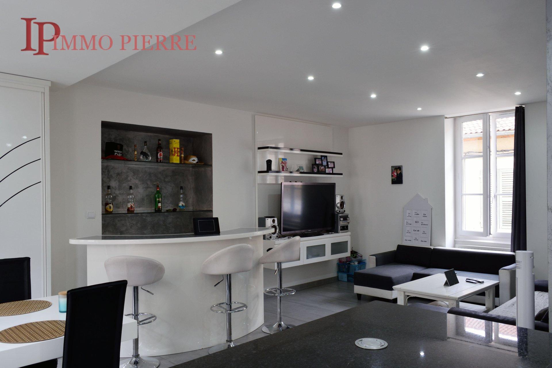 Roanne hyper-centre, bel appartement lumineux.