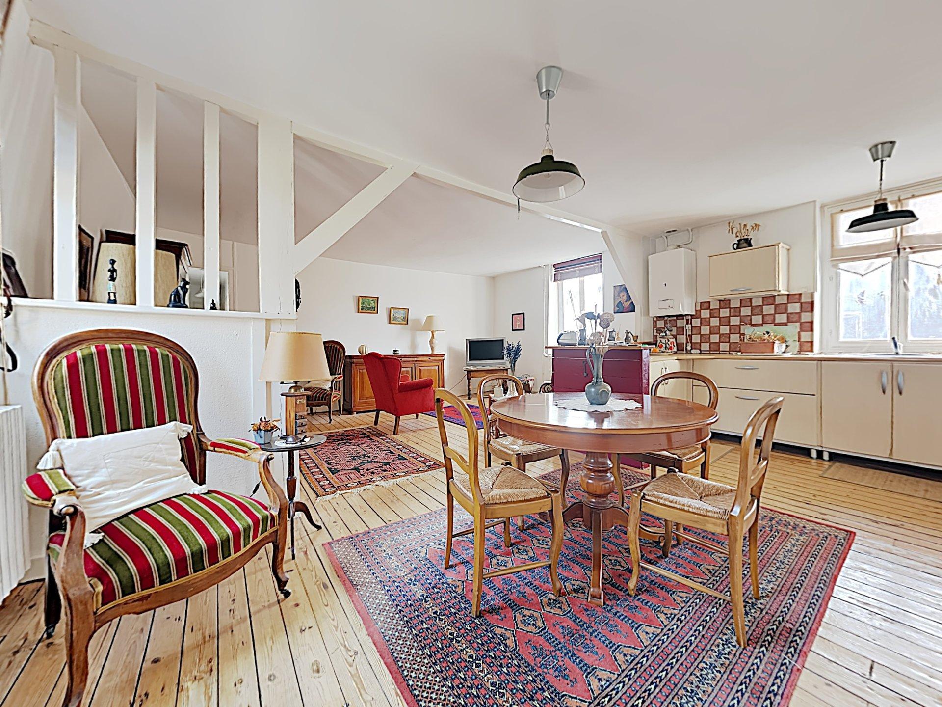 Appartement - 3 pièces - 2 chambres - 14360 Trouville sur Mer