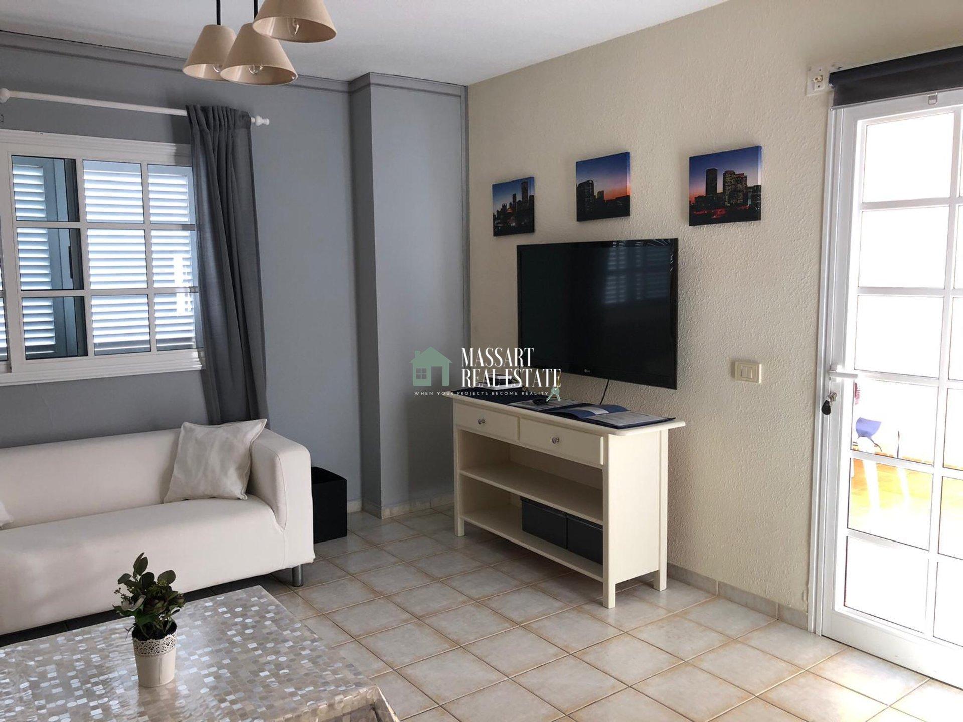À VENDRE dans le quartier résidentiel de Balcón del Atlántico, magnifique appartement de 54 m2 avec vue privilégiée.