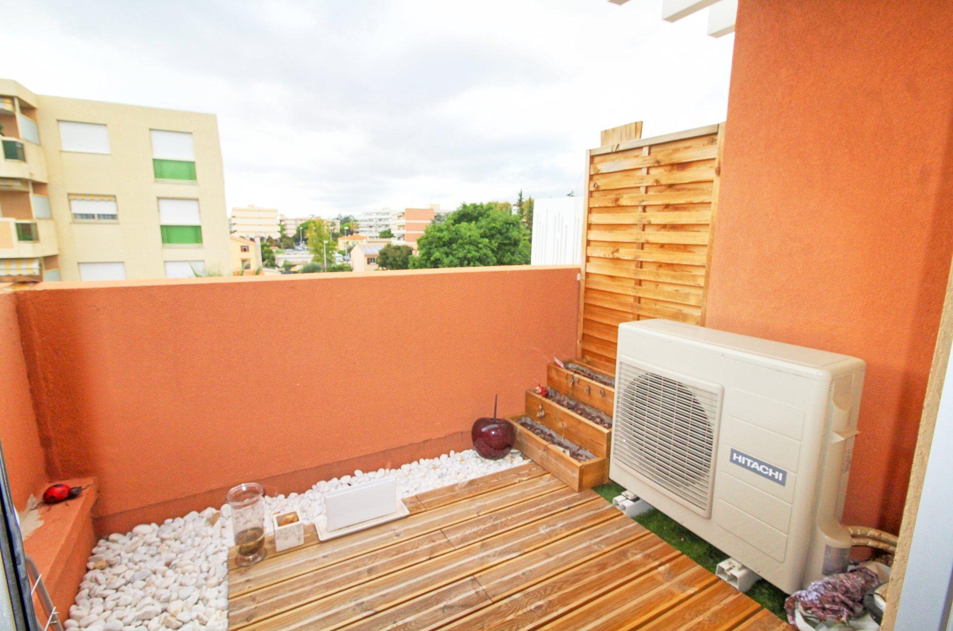 terrasse, st laurent, duplex, F3, balcon, cave