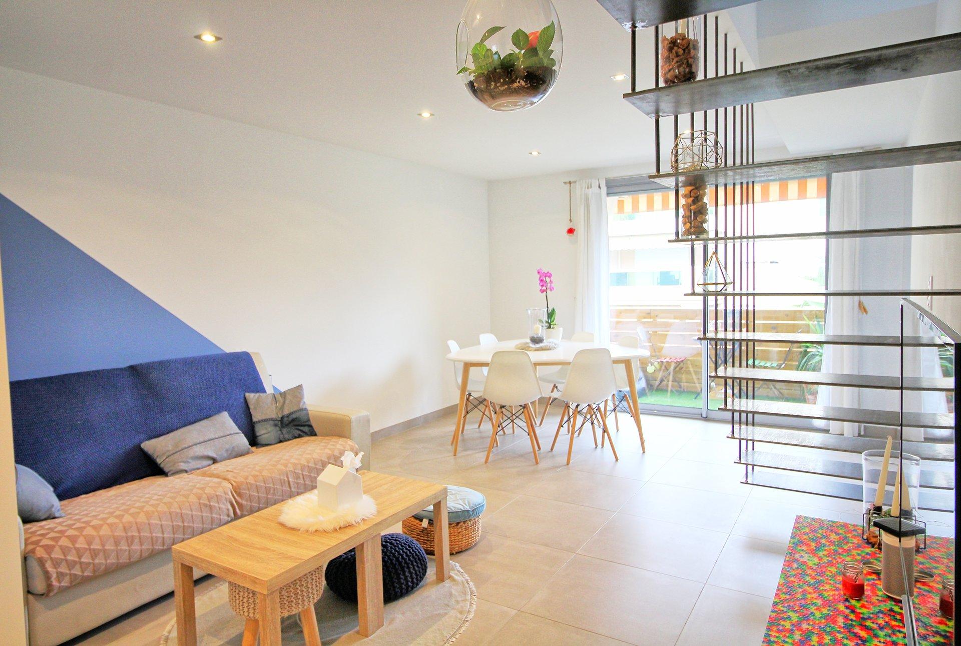 T3, Vespins, st laurent, terrasse, parking,appartement