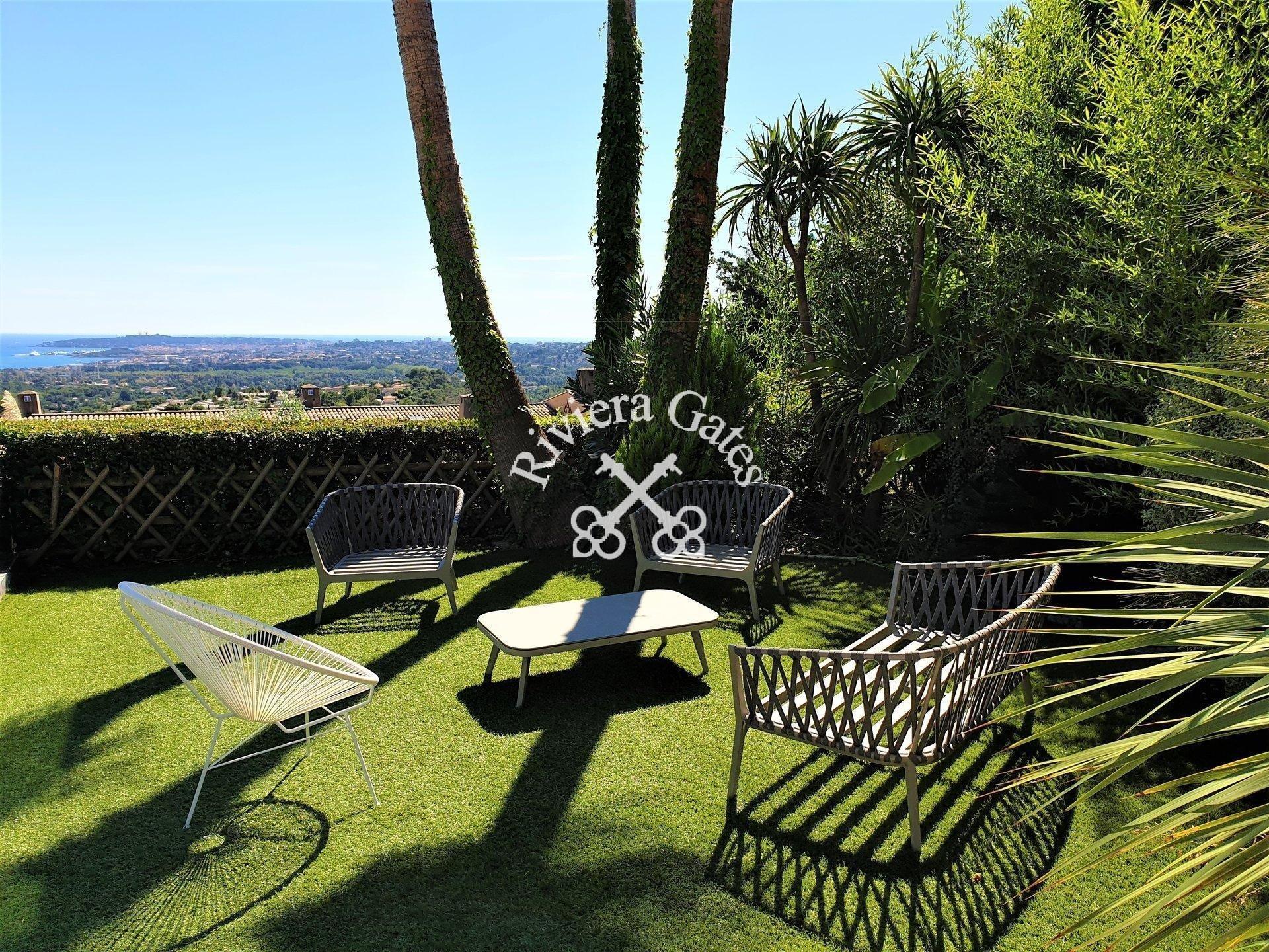 For rent - Luxurious 3 bedroom villa with pool & see view - Les Hauts de Vaugrenier