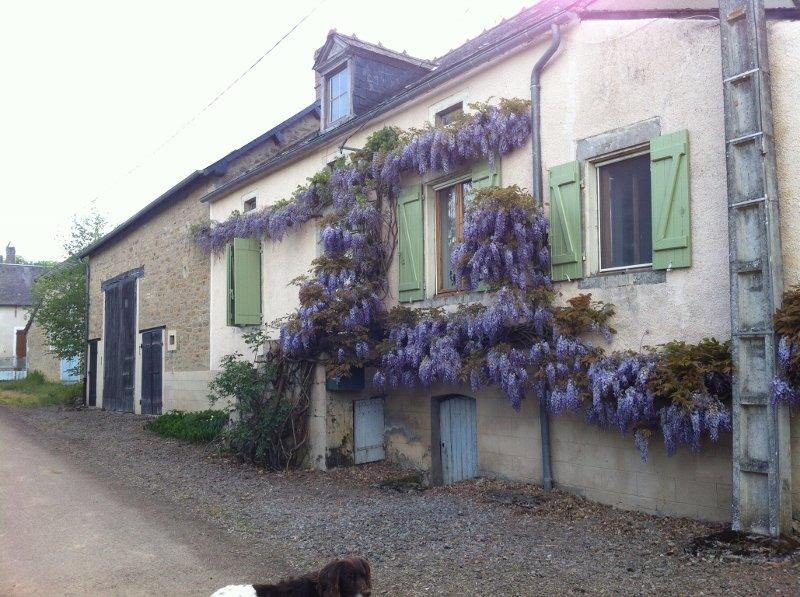 Charakteristisches Dorfhaus zu verkaufen am Morvan Burgund