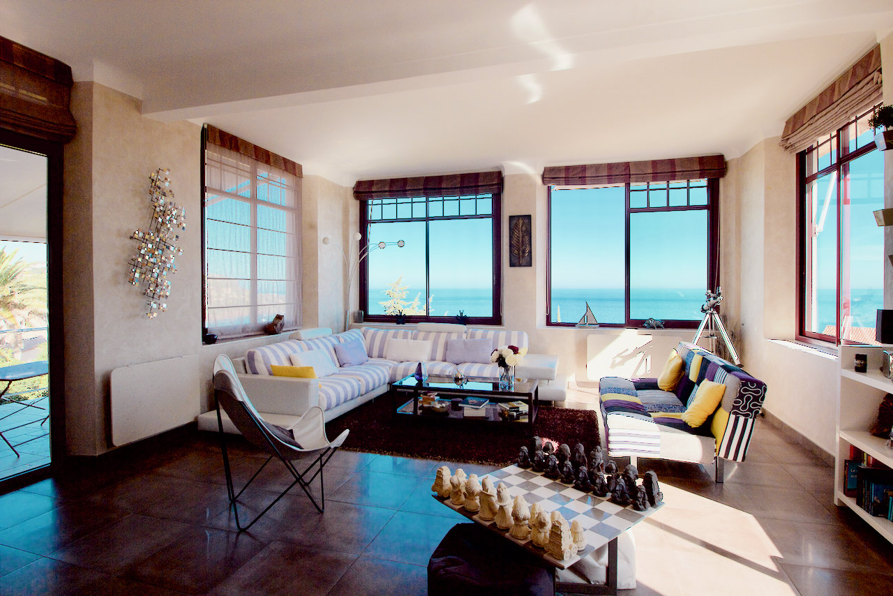 Le Trayas - Luxury 2-room Apartment (ca. 100 m2) with terrace in renovated  villa  with GREAT SEA-VIEW!