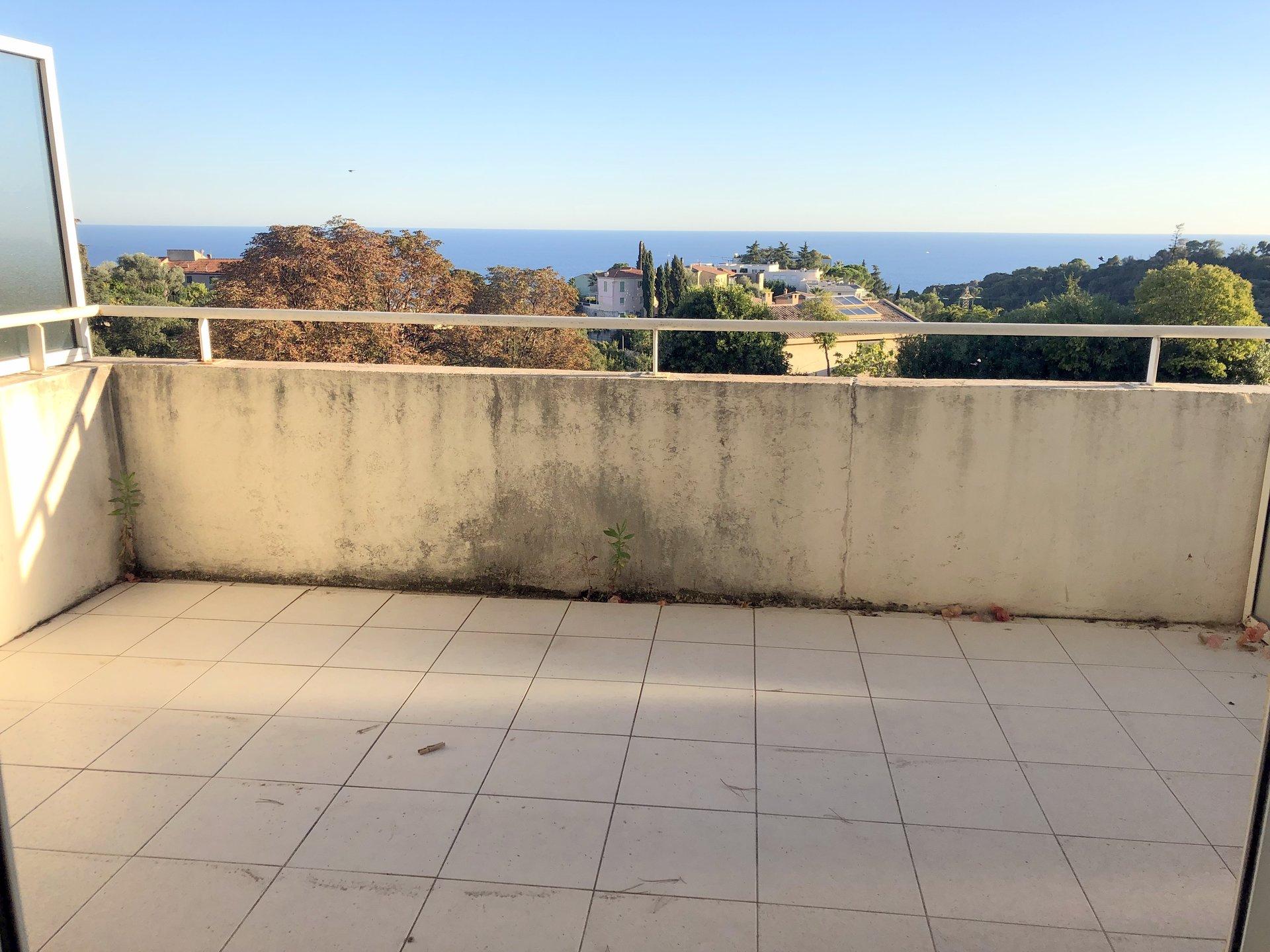 Location Nice, 2 pièces collines Saint Pierre de Feric