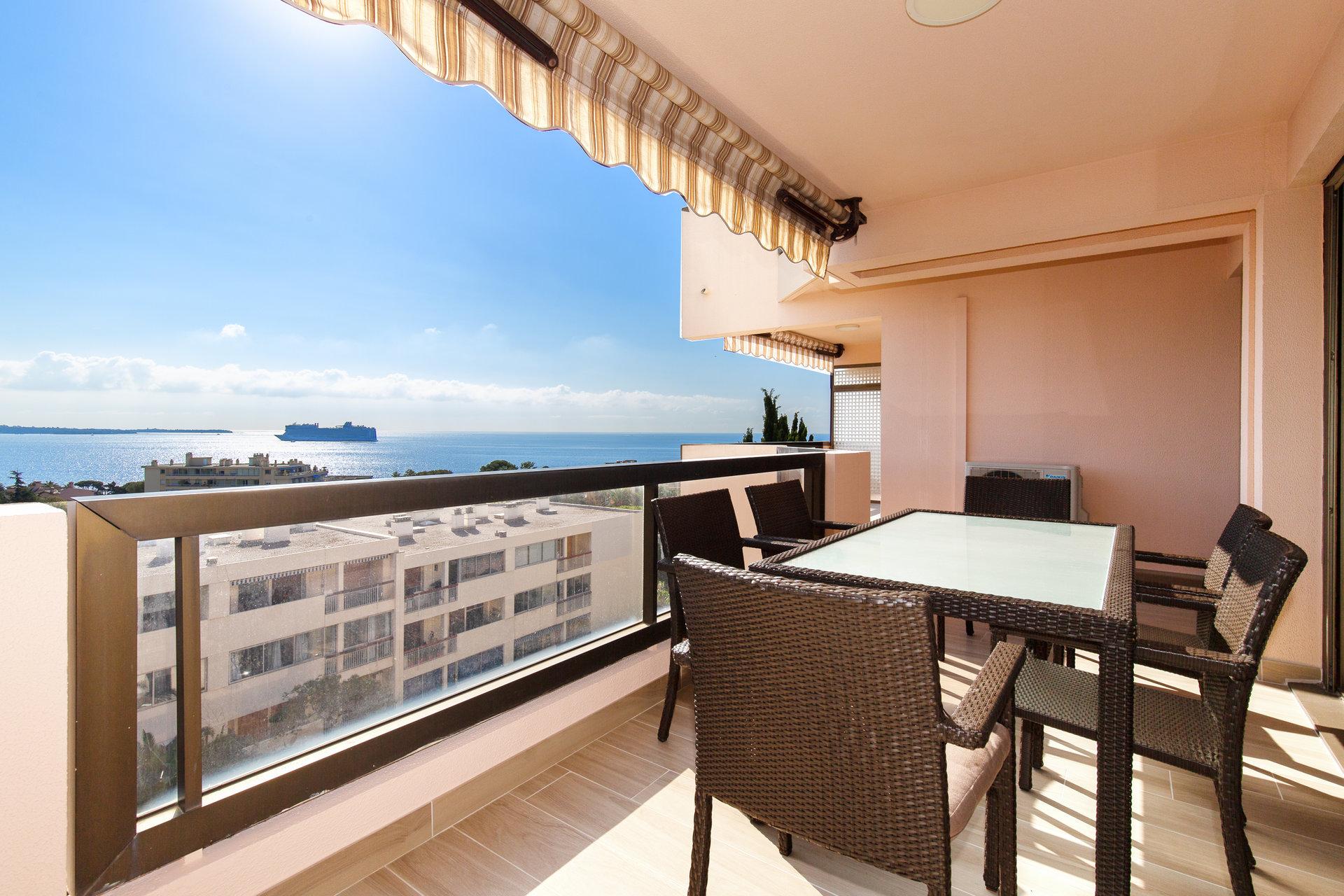 Cannes Croix-des-Gardes 4 Pièces vue mer