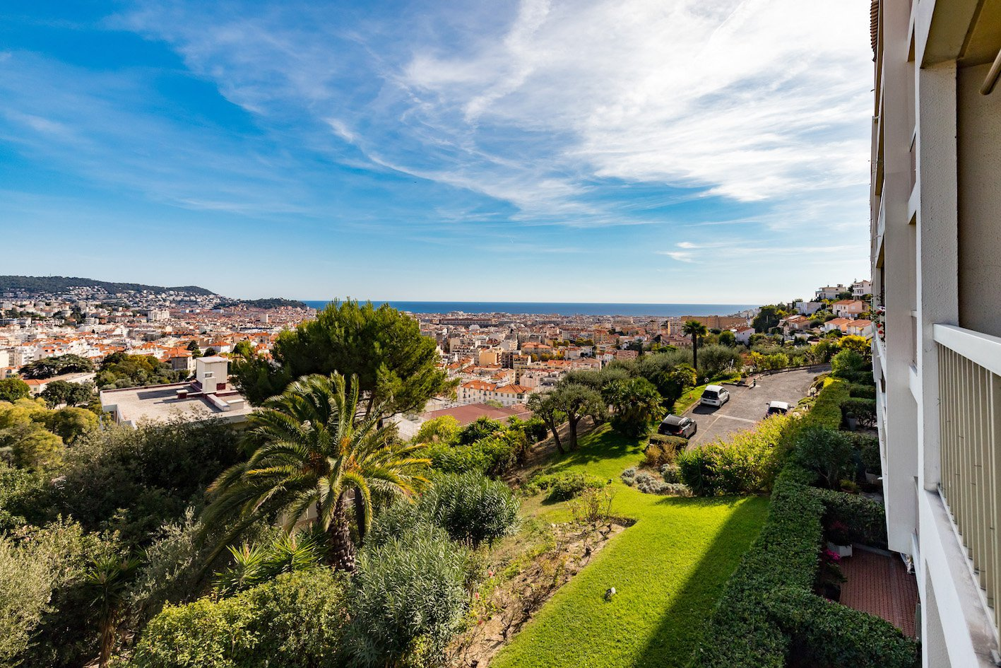 Nice Pessicart / Parc MONTEBELLO - 3 BedRooms - Panoramic Sea and City