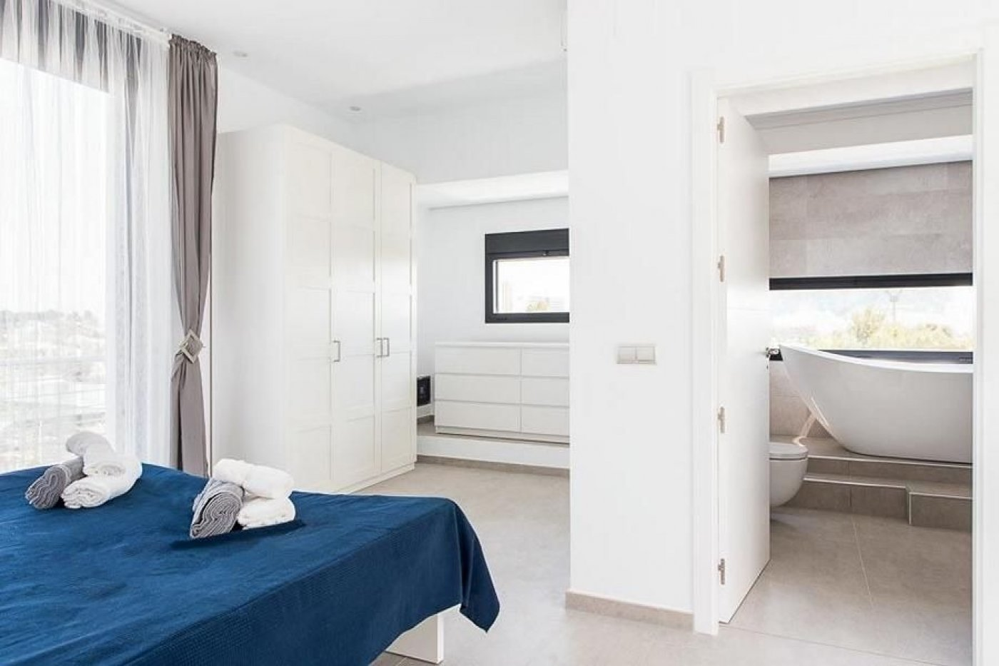 Nieuwe villa met hypermodern ontwerp in Calpe