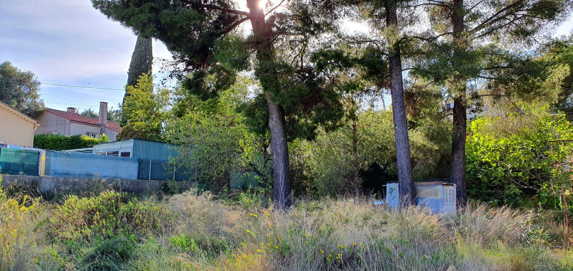 Terrain plat 376m² pour maison individuelle