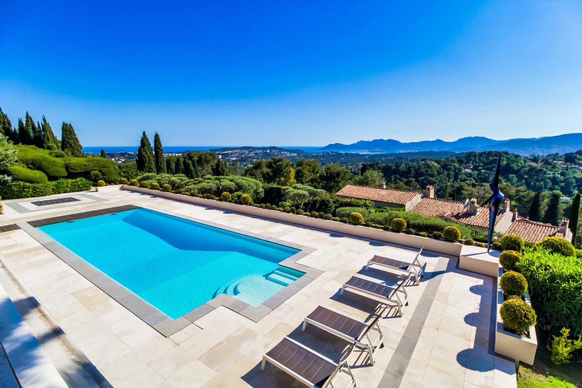 Californian style villa with stunning sea views