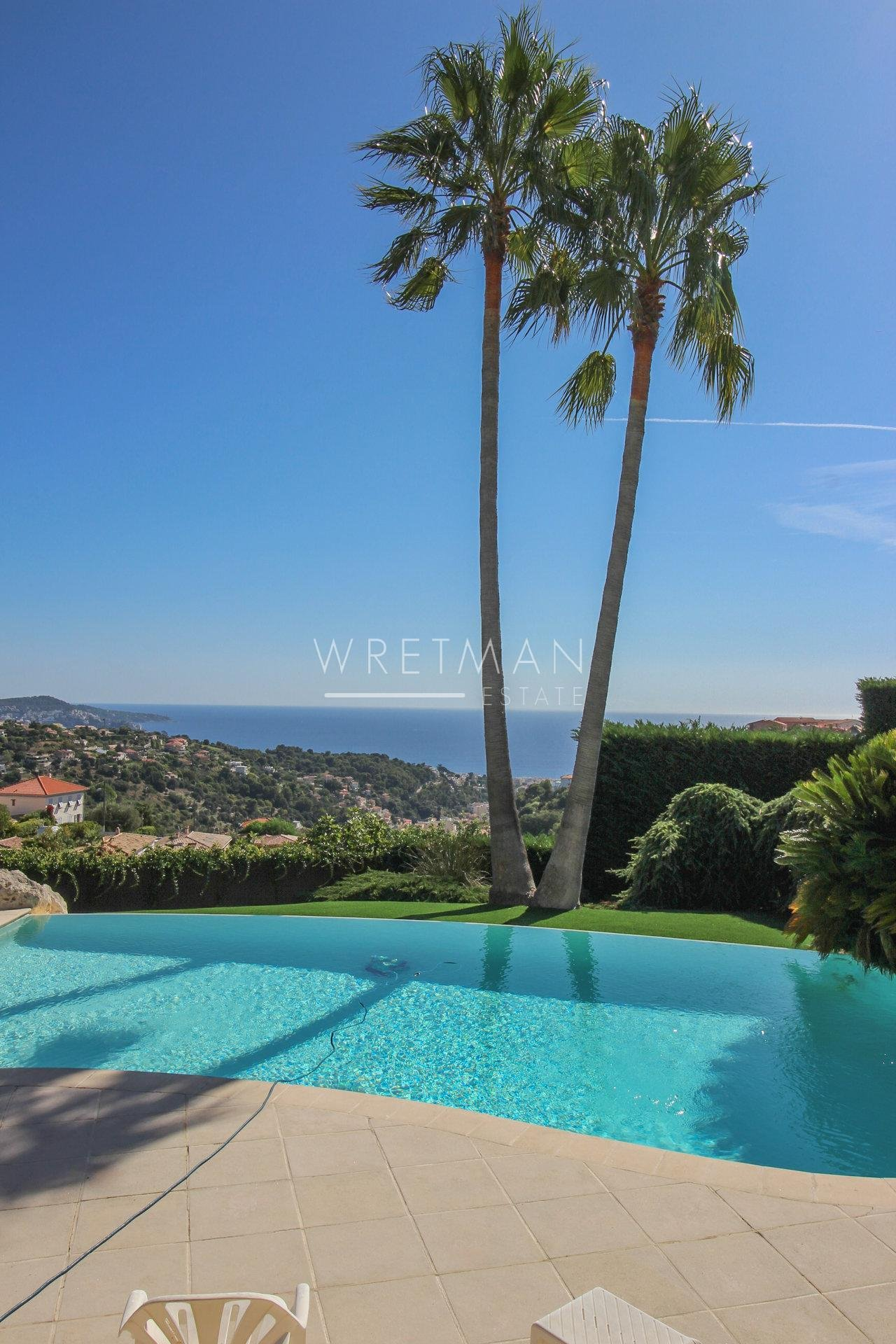 Provençal house with stunning sea view - Nice Ventabrun