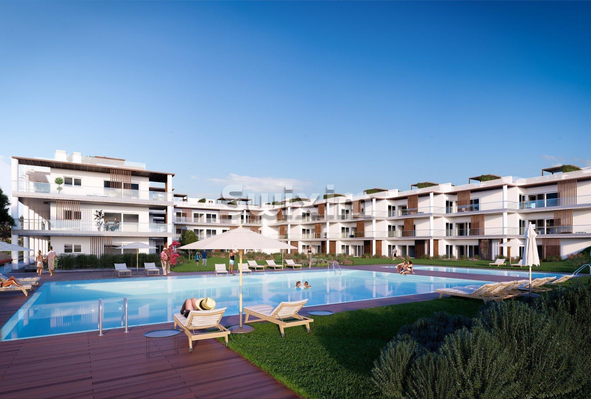 Apartamento T3S Duplex com vista mar