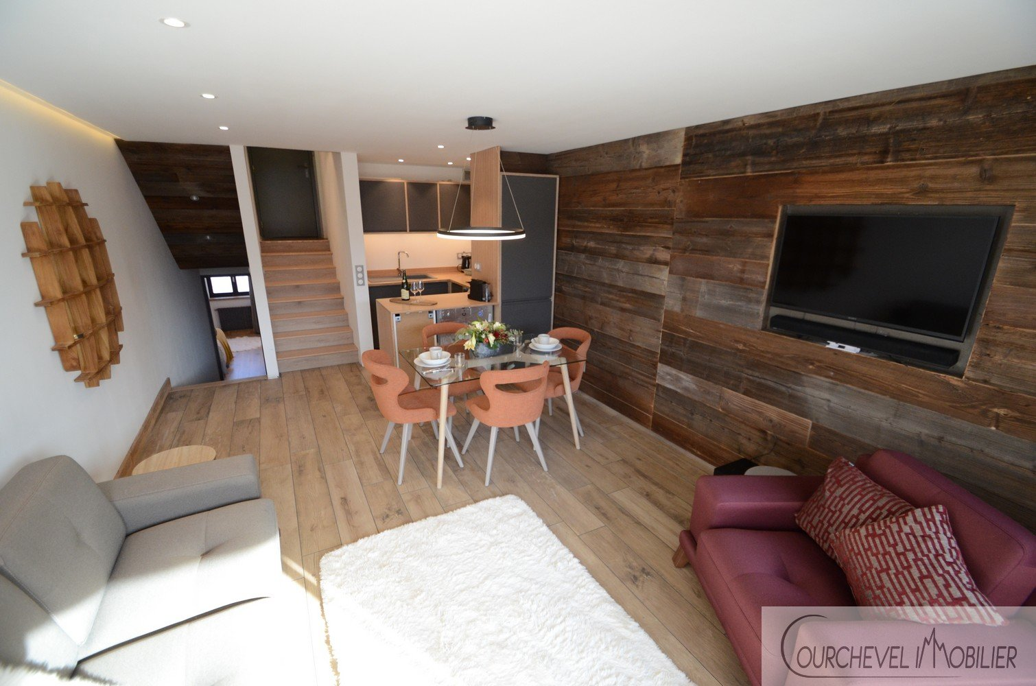 T3 RENOVAED APARTMENT - COURCHEVEL MORIOND