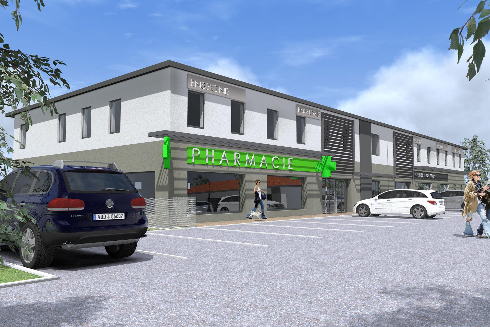 La Ricamarie plateau bureau 44,38 m²