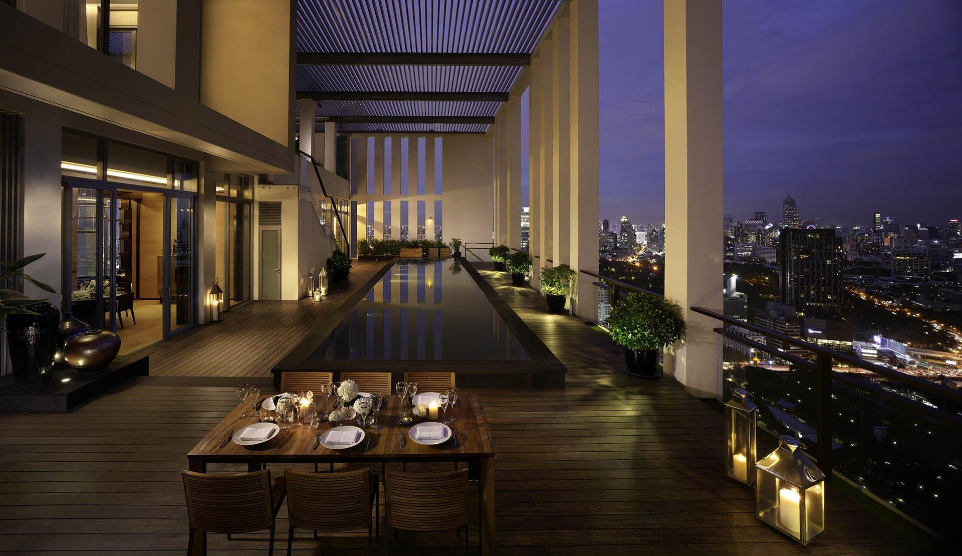 the sukhothai residences, bangkok, penthouse image1