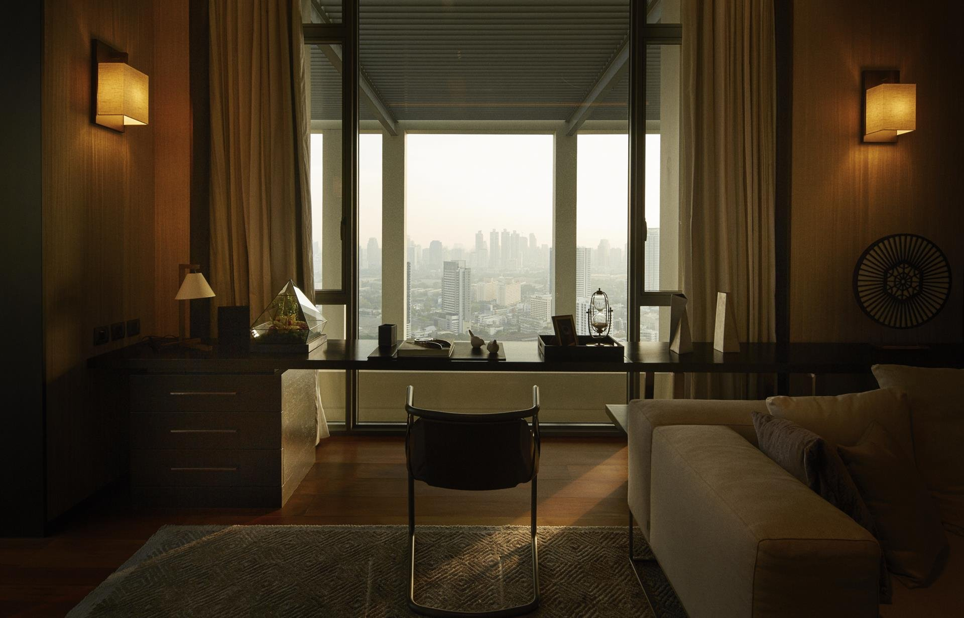 the sukhothai residences, bangkok, penthouse image6