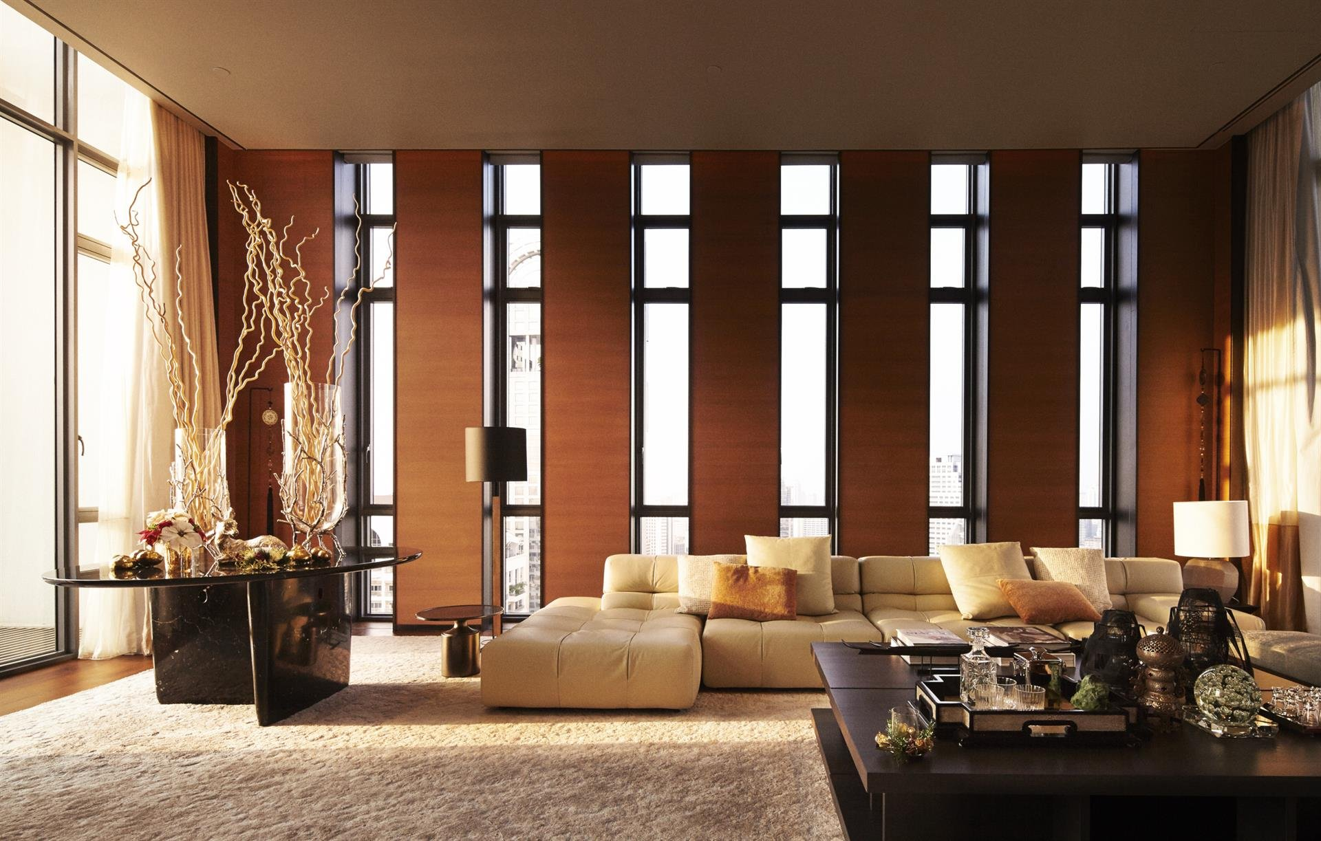 the sukhothai residences, bangkok, penthouse image4