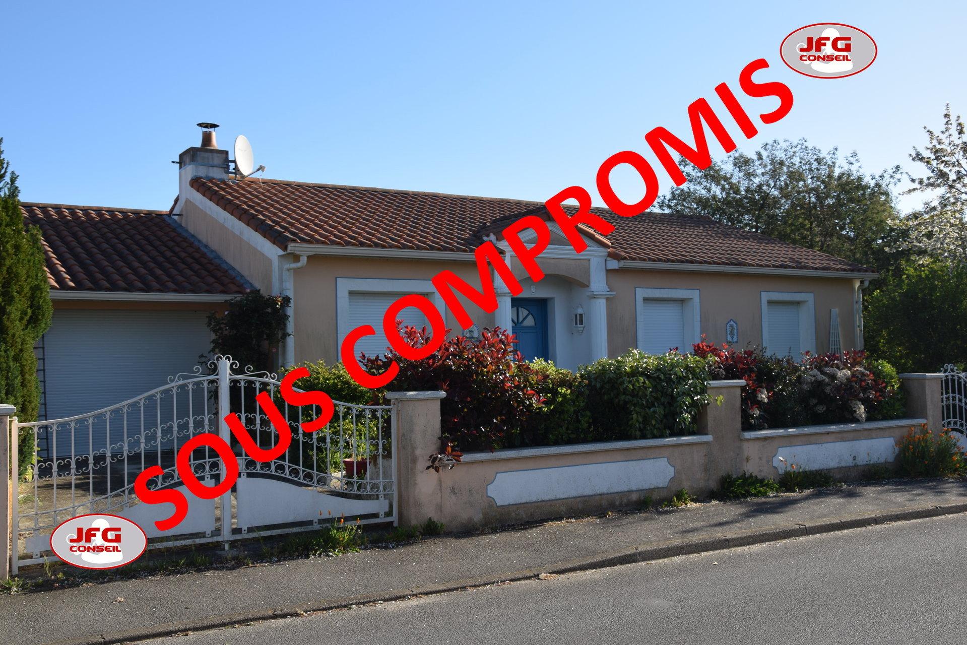 Maison 103m² - 3 ch - terrain 620m² 44560 CORSEPT