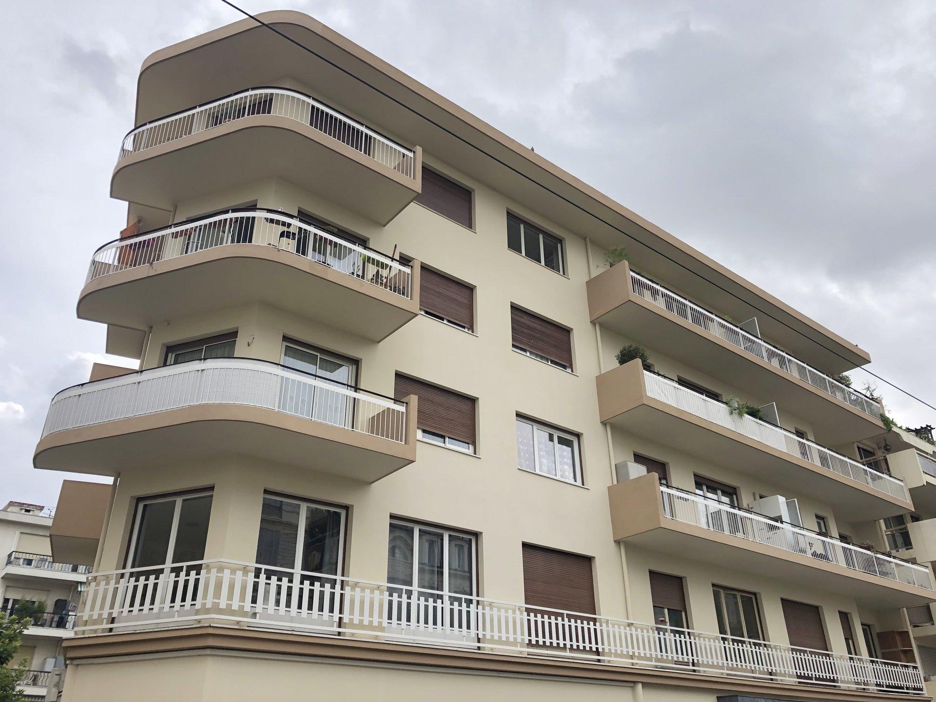 Location Nice 2 pièces 39.64m² situé rue Puget