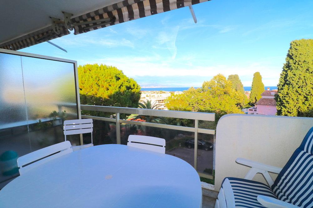 Antibes. 2-3P avec Terrasses, vue mer et garage
