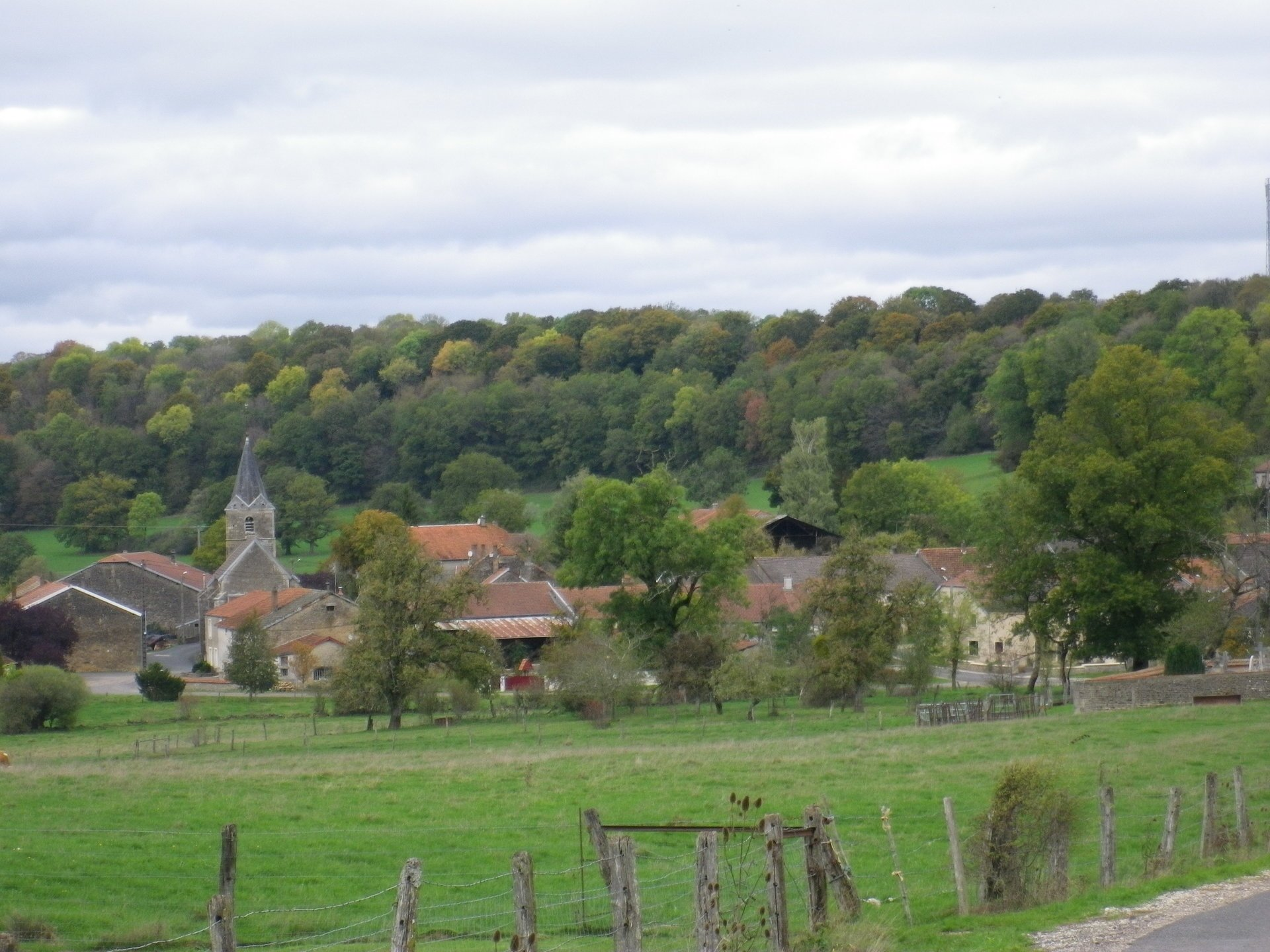 Nice house in the Haute-Marne with river borded garden
