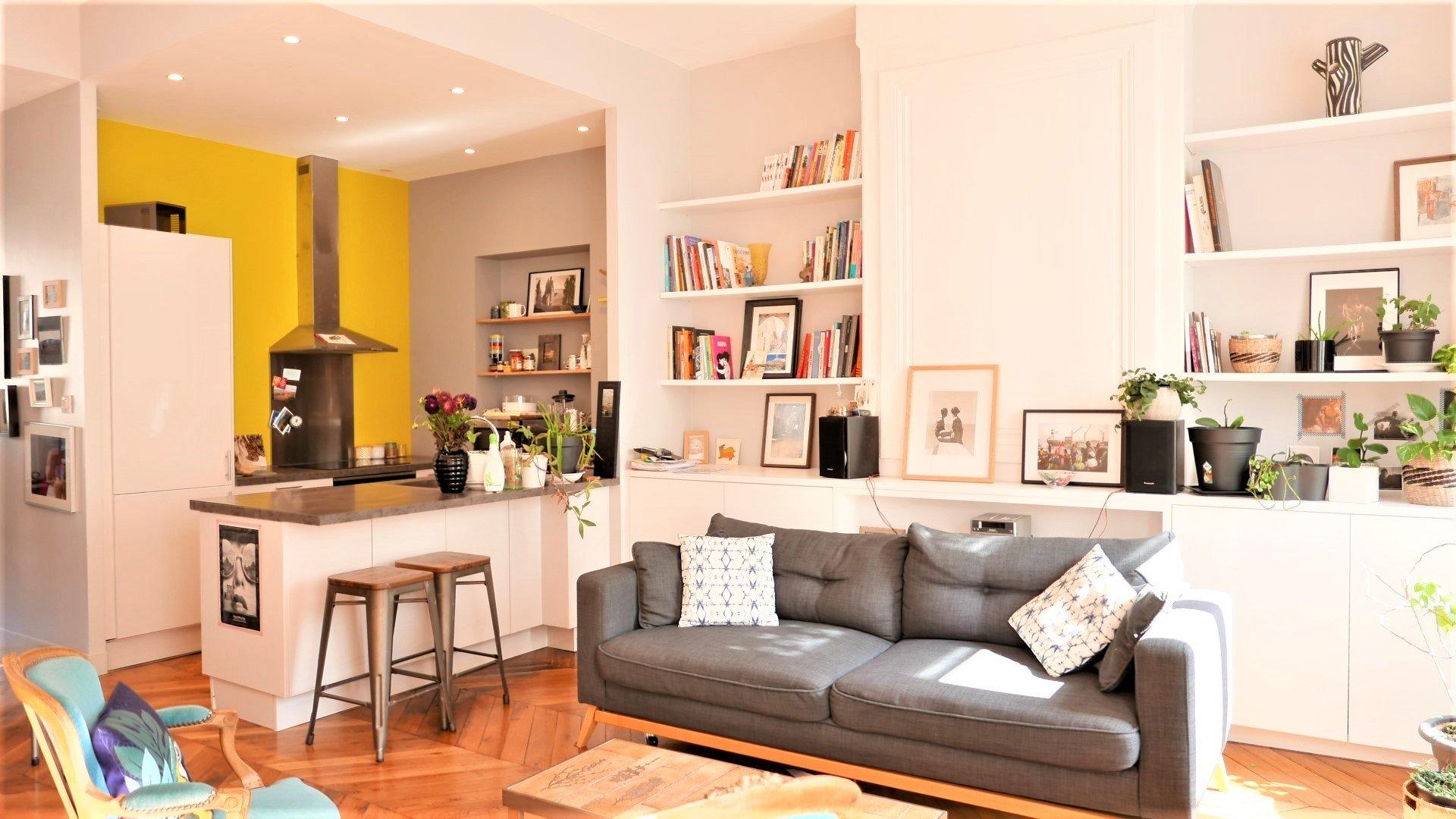 Location Appartement Surface de 65.12 m², 3 pièces, Lyon 3ème (69003)