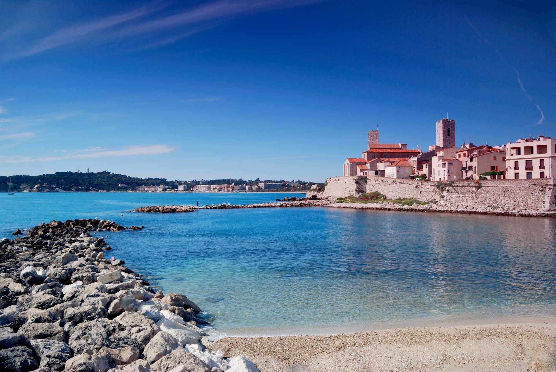 Antibes french riviera penthouse with sea view near Swimming pool water delivery service near me