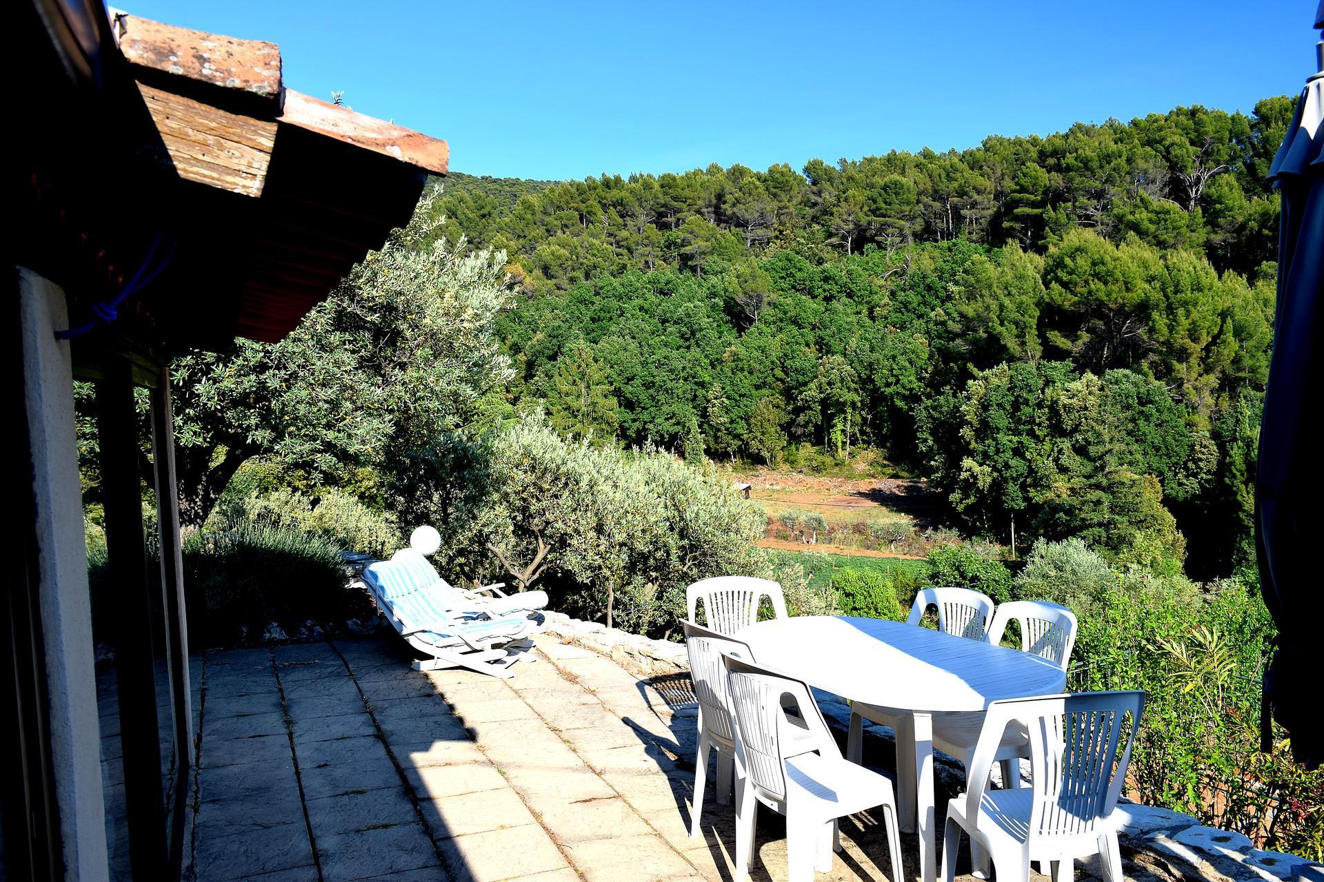 terrasse bastidon aups var provence