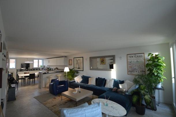 Apartment duplex 2 bedroom center Cannes sea view