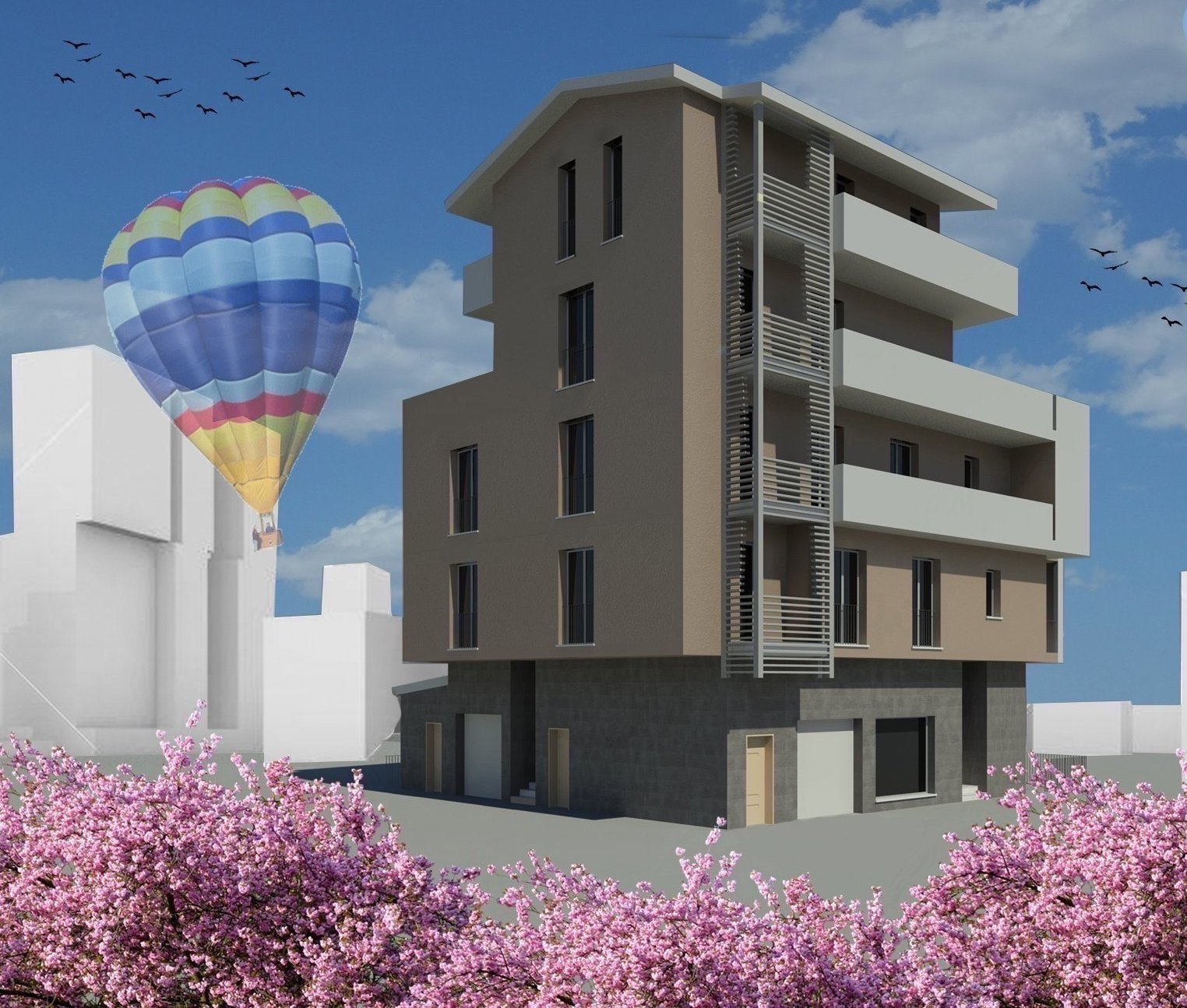 New development in Grottammare walking distance to the sea