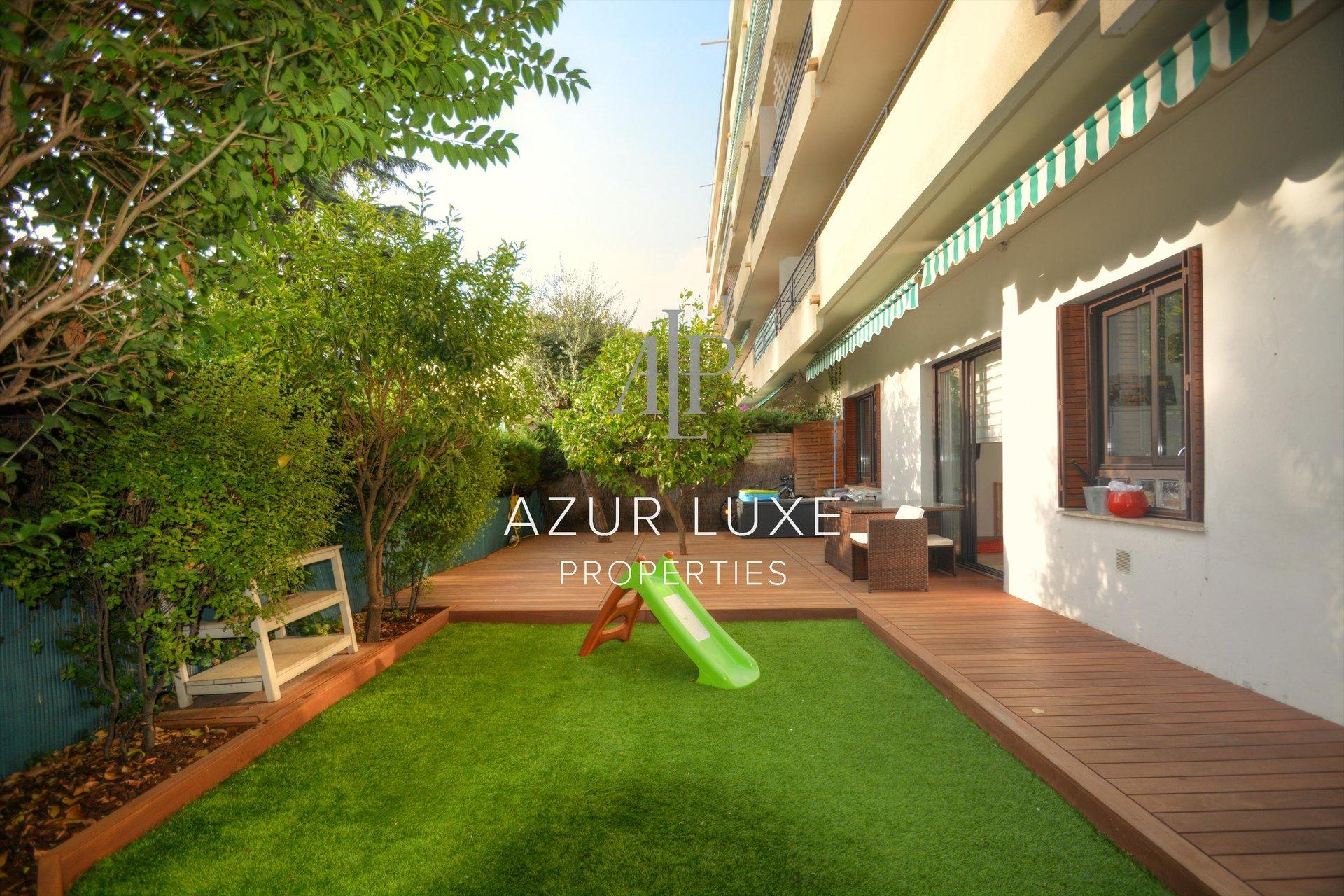 3P72 m² rez de jardin STE MARGUERITE