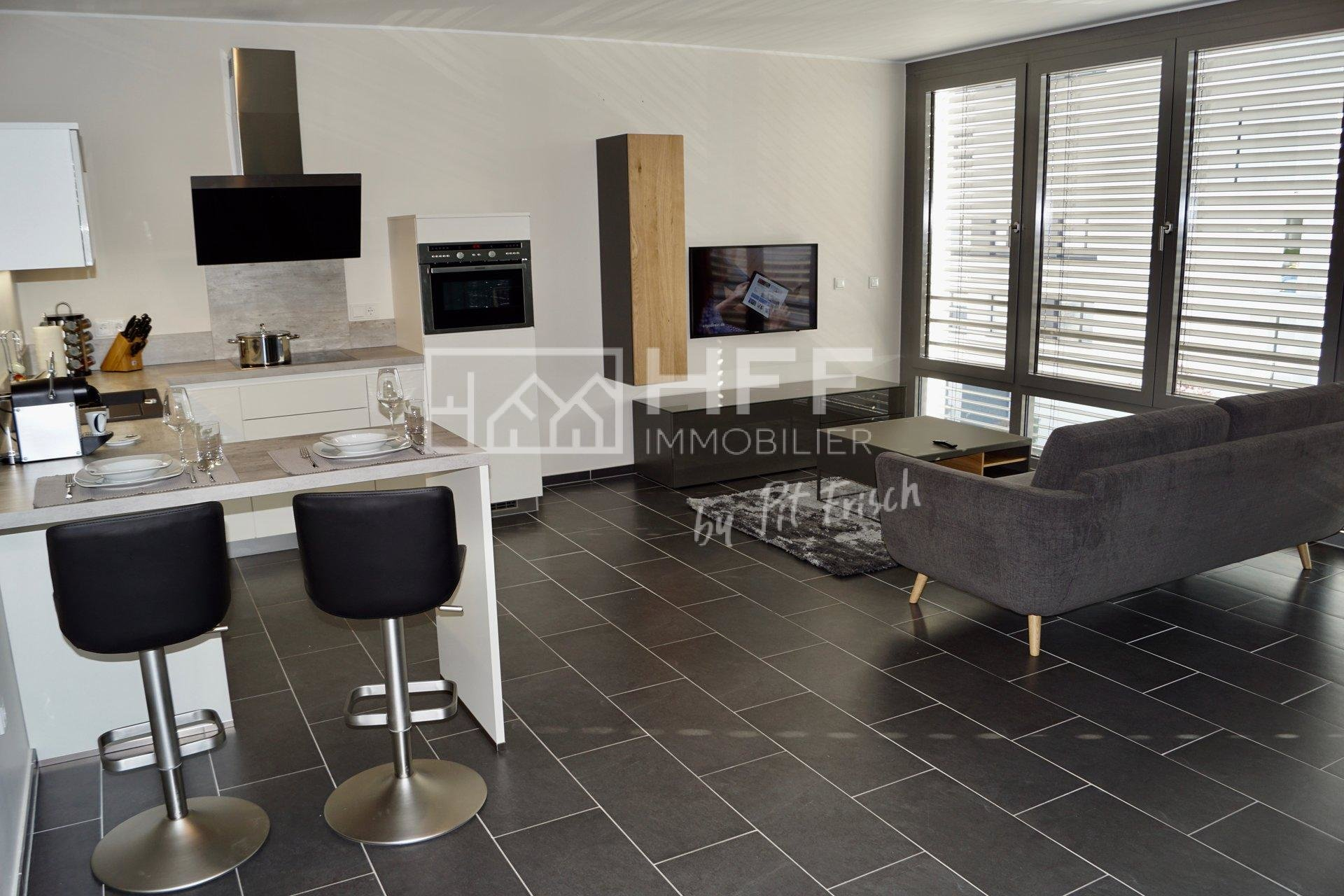 Furnished Service apartment in Luxembourg-Kirchberg