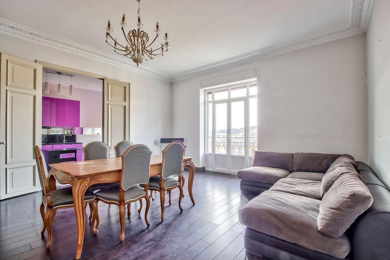 FÖRSÄLJNING Lägenhet 4 Rum 131m² Nice Cimiez Balkong Panoramautsikt