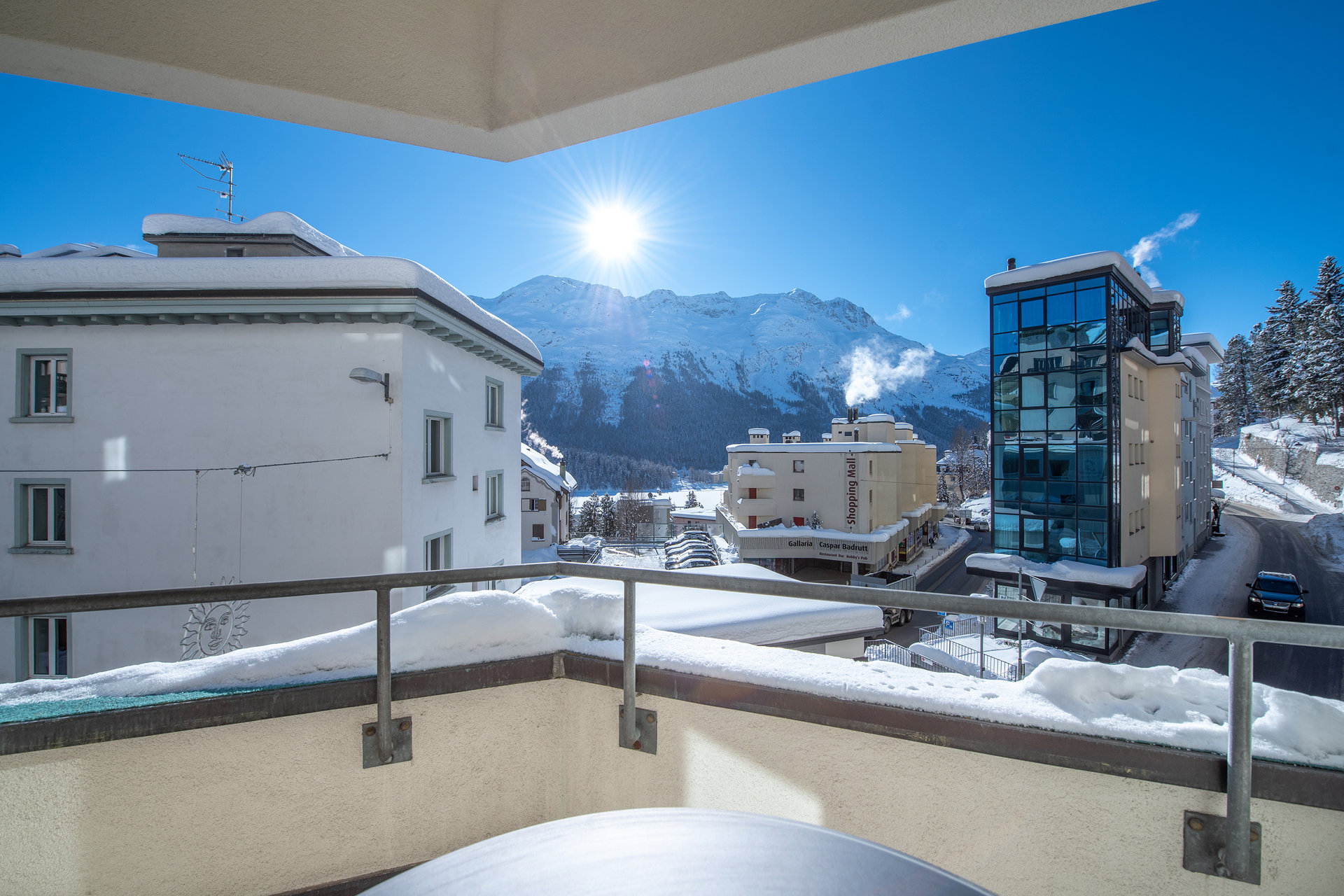 Apartment furnished for sale in St.Moritz-land view