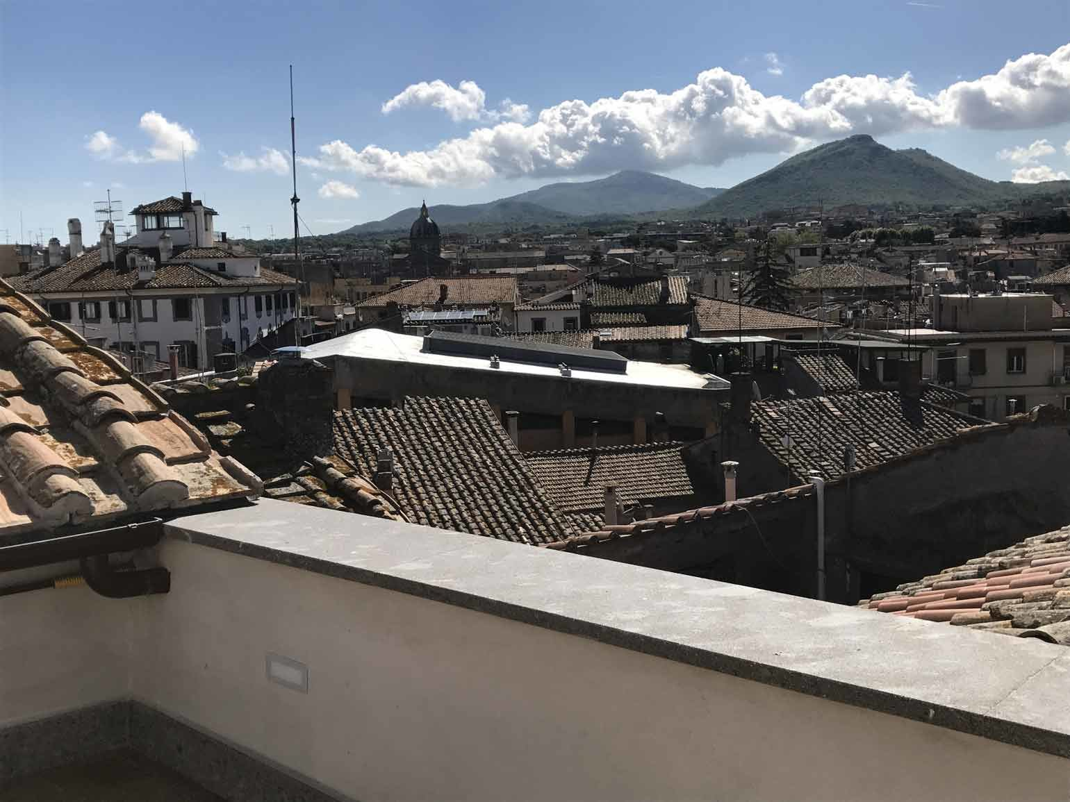 Rooftop Viterbo: totally restored penthouse on two levels with terrace