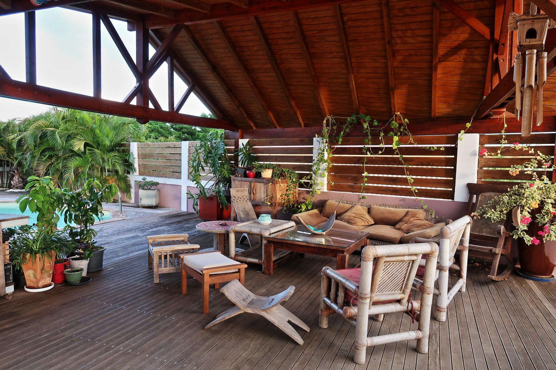 Immobilier Guadeloupe Sainte-Anne villa prestige