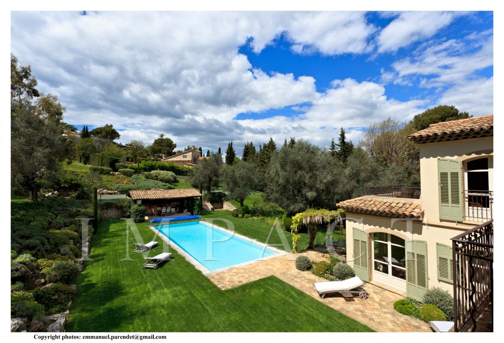 Beautiful villa for rent Mougins