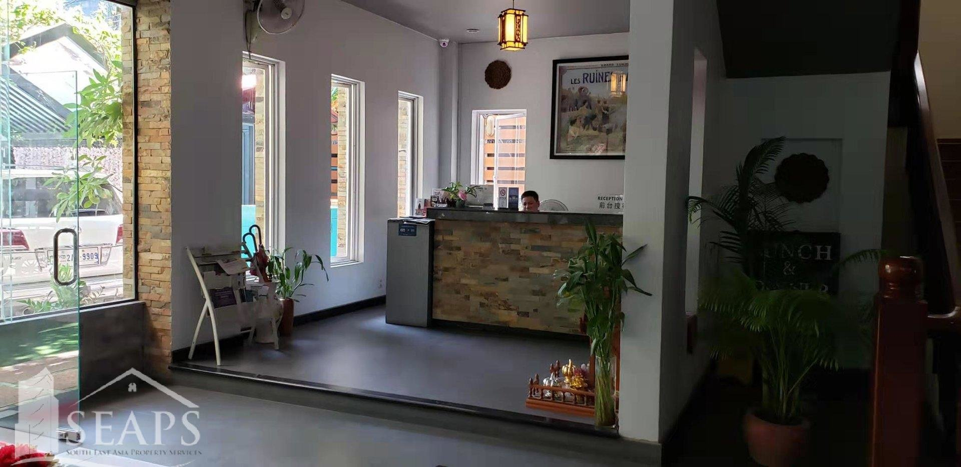 Hotel For Rent BKK1 $14,000/Month
