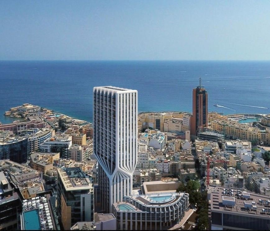 Marvellous sea view for this 650sqm apartment.