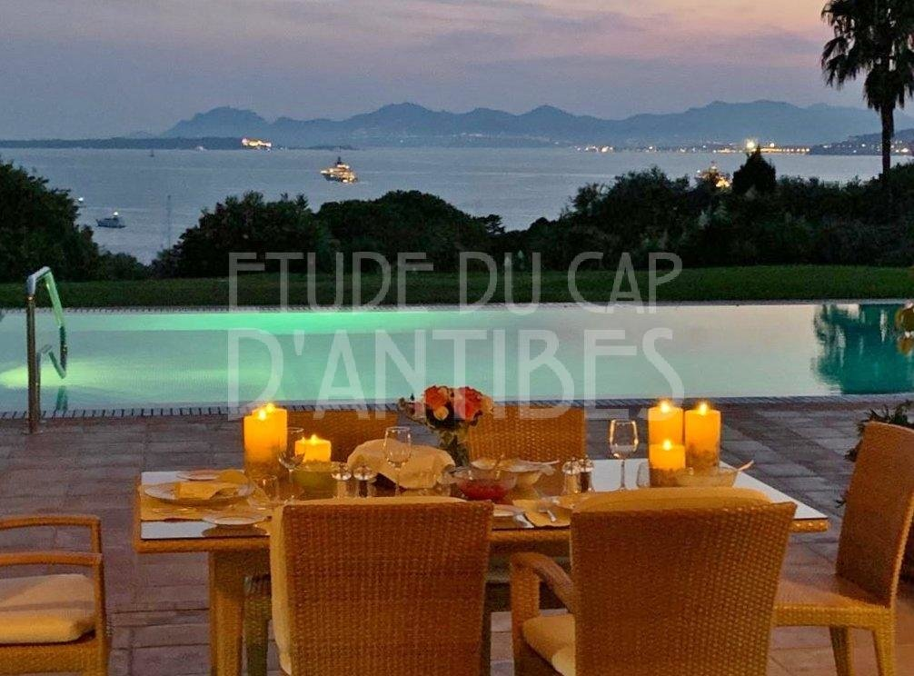 Cap d'Antibes - Magnificent Sea views
