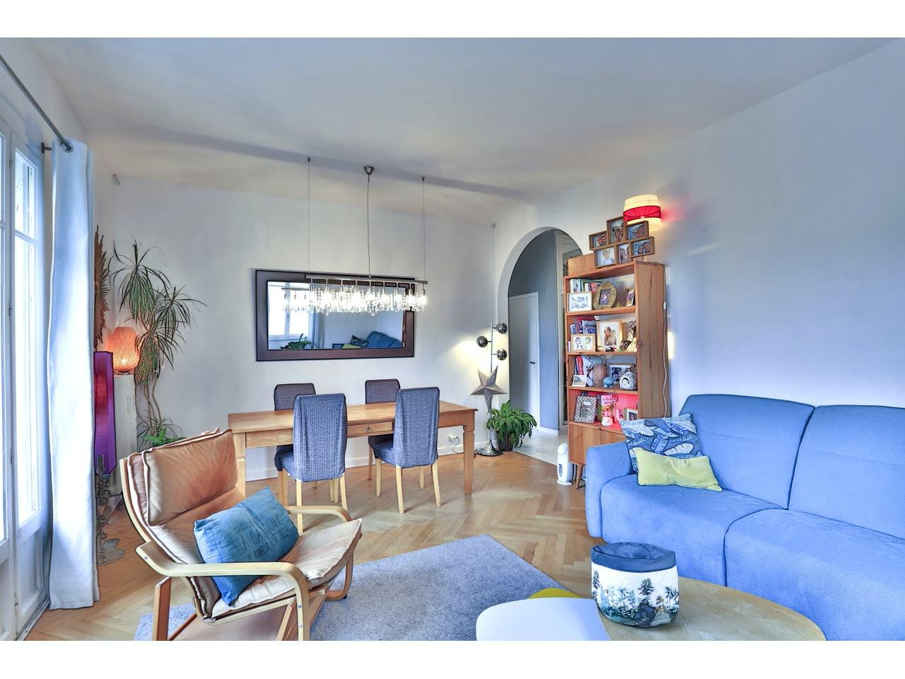Apartment in Mont Boron/Le Port with balcony in south west