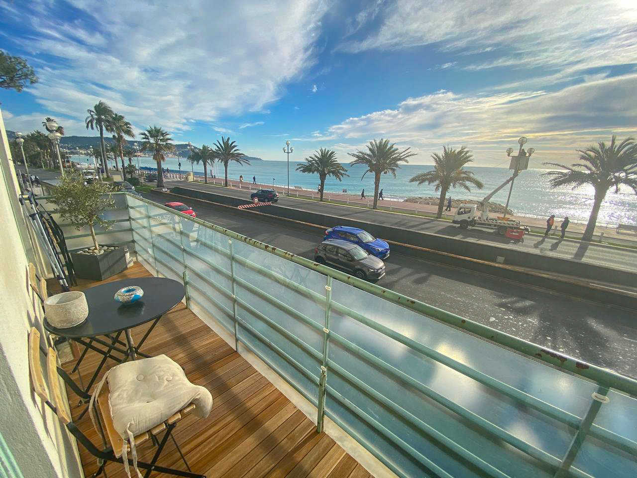 3-bedroom apartment with sea view - Nice Promenade des Anglais