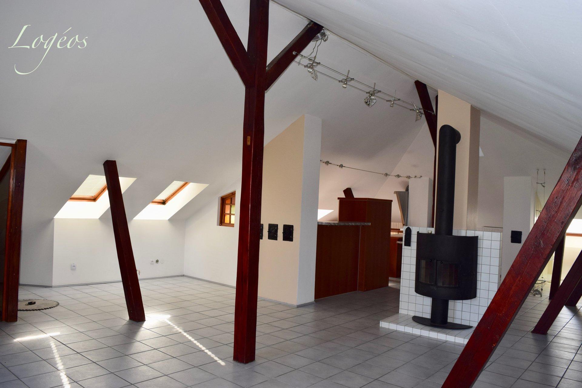 Loft atypique. (Mulhouse-Rebberg).