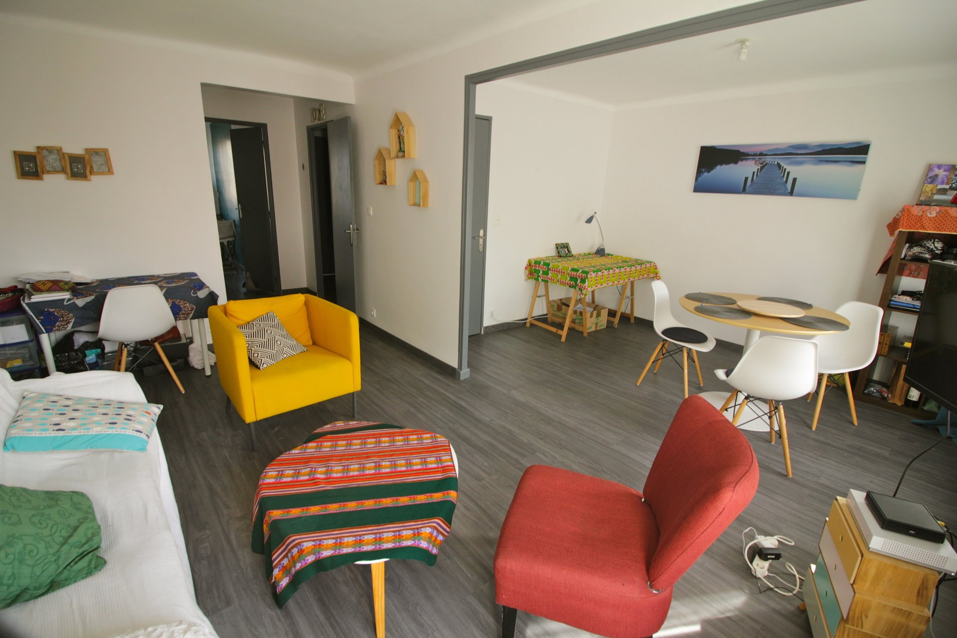 Appartement T2/3 lumineux