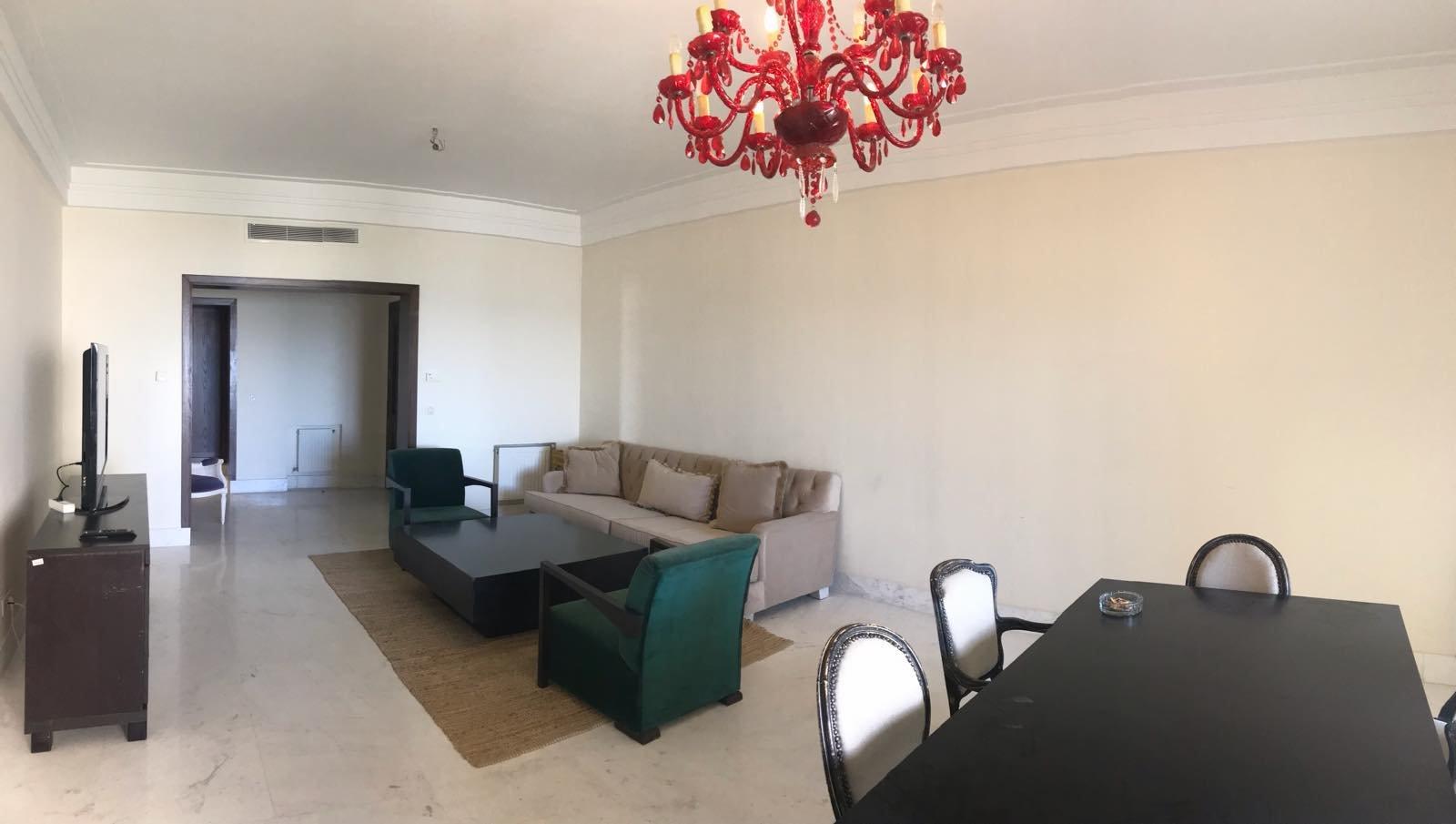 Location appartement S+2 meublé front Lac