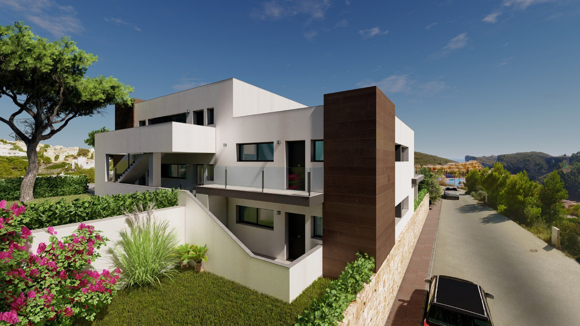 Modern new built apartments in Benitachell