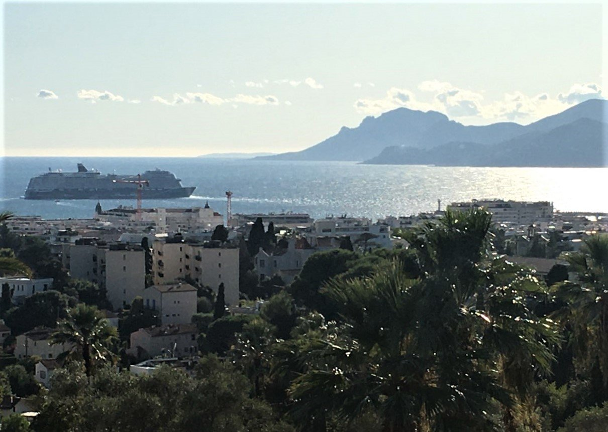 TO SELL CANNES 140M² + 50M² Ter PANORAMIC  SEA VIEW