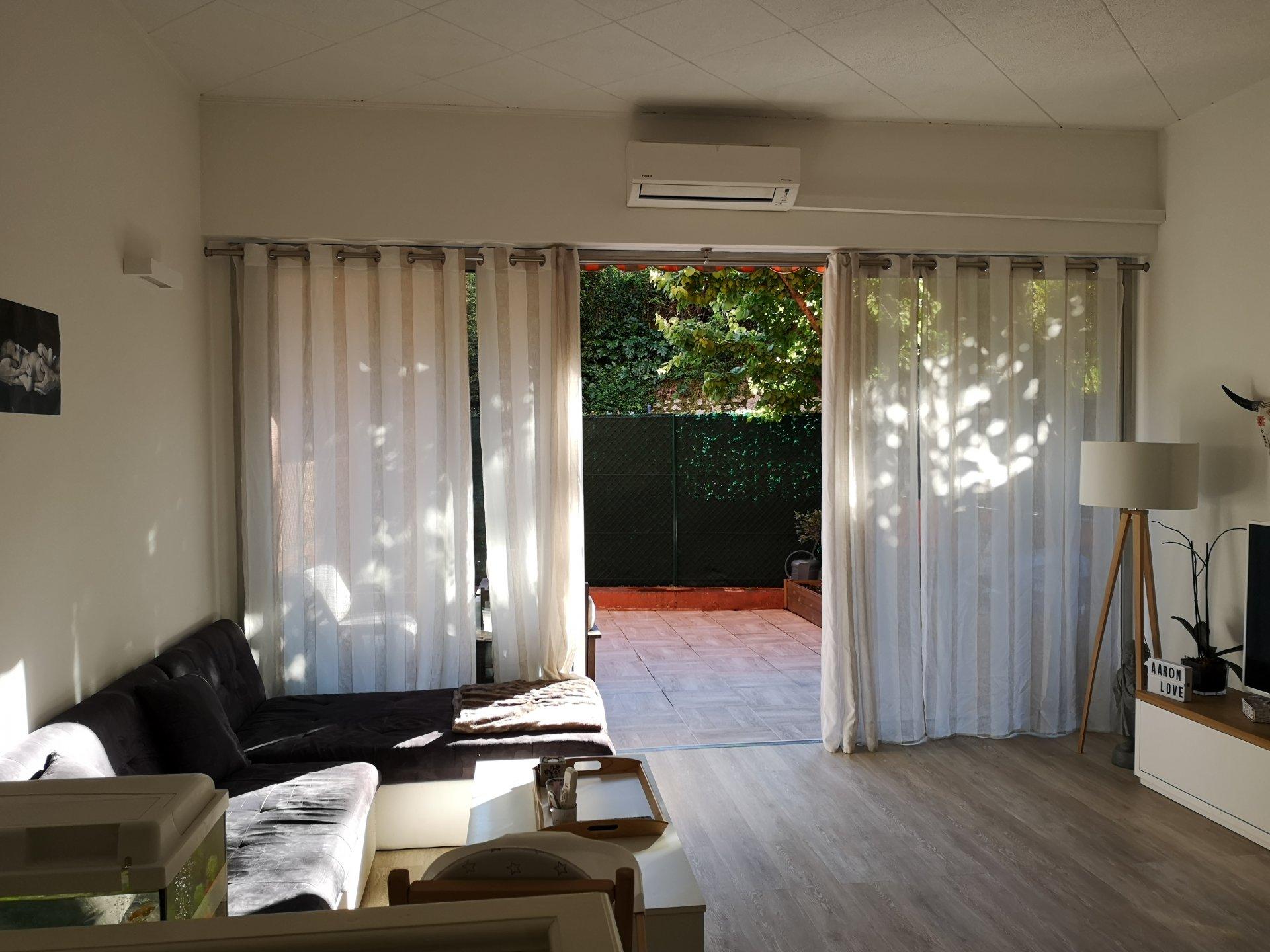 Appartement 3 pièces en Rez-de-jardin grande terrasse